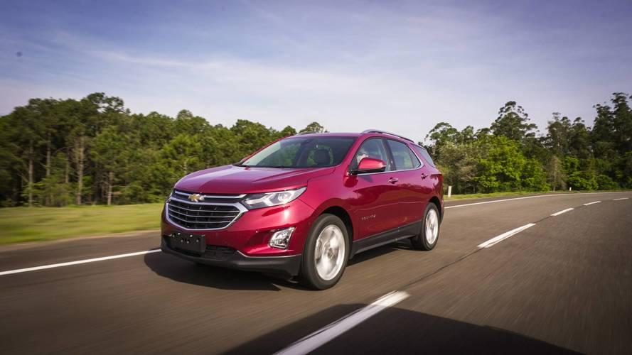 Mais vendidos nos EUA – Equinox supera Corolla em outubro