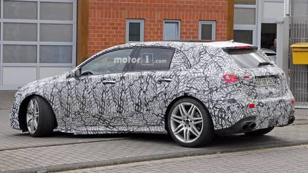 New Mercedes A-Class, A45, Sedan And B-Class Spotted Up Close