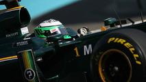 Heikki Kovalainen (FIN), Lotus F1 Team - Formula 1 Testing, Pirelli tyre test, 19.11.2010 Abu Dhabi, Abu Dhabi
