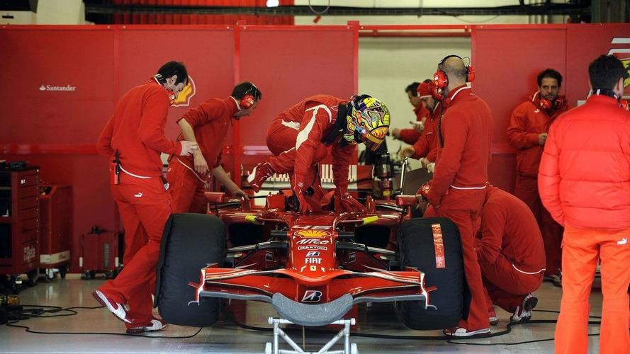 Massa to test Rossi's F2008 on Friday
