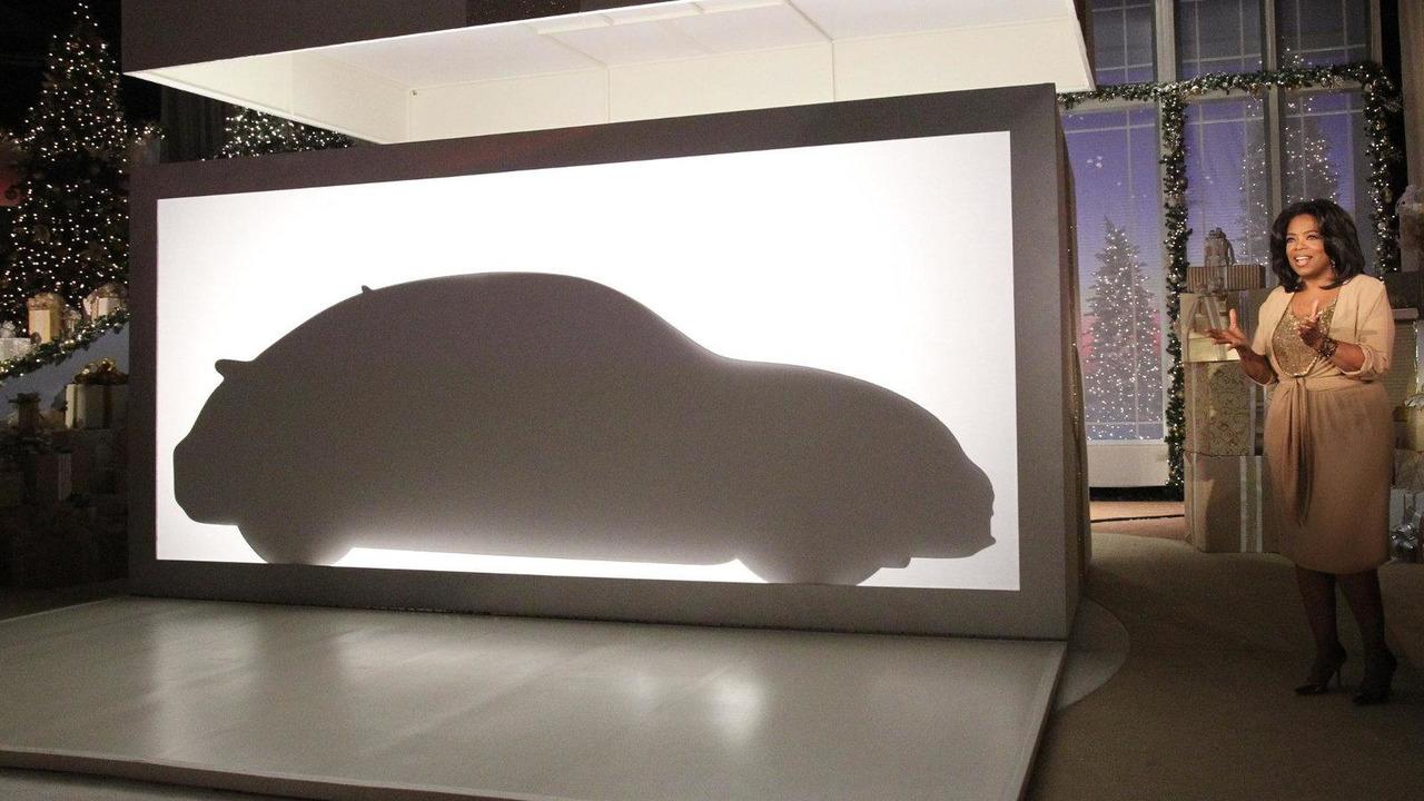 2012 Volkswagen Beetle teased on the Oprah Winfrey Show 22.11.2010