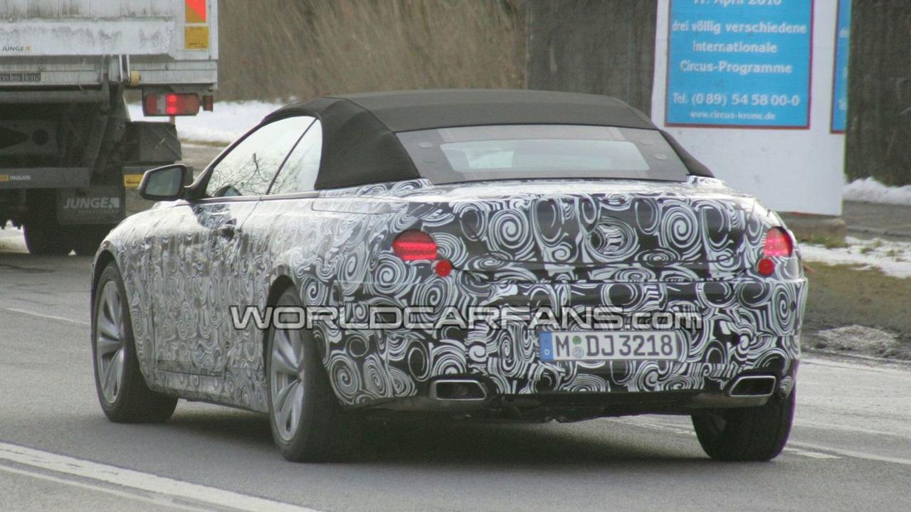 2011 BMW 6-Series Convertible prototype spy photo - 11.02.2010