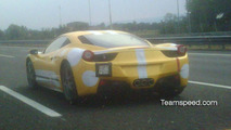 Ferrari 458 Italia pre-release spy photo
