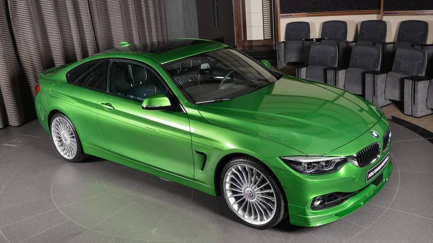BMW Alpina B4 S Rallye Green Is Exclusivity At Its Finest