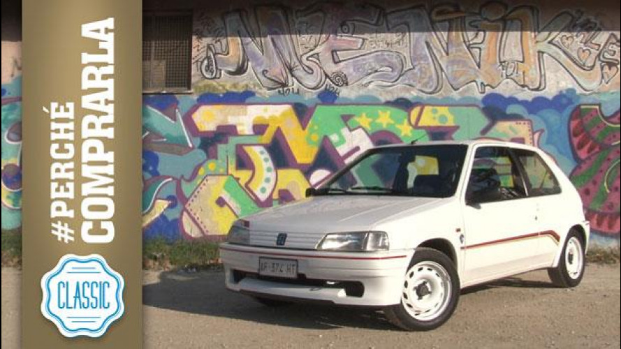 Peugeot 106 Rallye 1.3, perché comprarla... Classic [VIDEO]