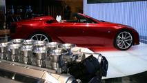 Lexus LF-A Roadster European Debut in Geneva