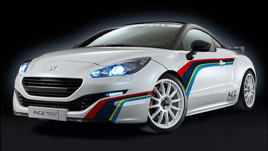 Peugeot RCZ Racing Cup Replica, per la strada e per la pista