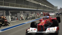 Codemasters F1 2012 video game demo screenshot 13.09.2012