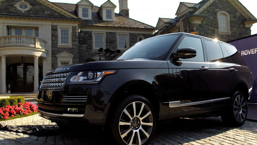 2013 Range Rover priced at $83,500 (US)
