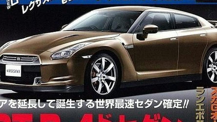 Rendered Speculation: Nissan GT-R Sedan?