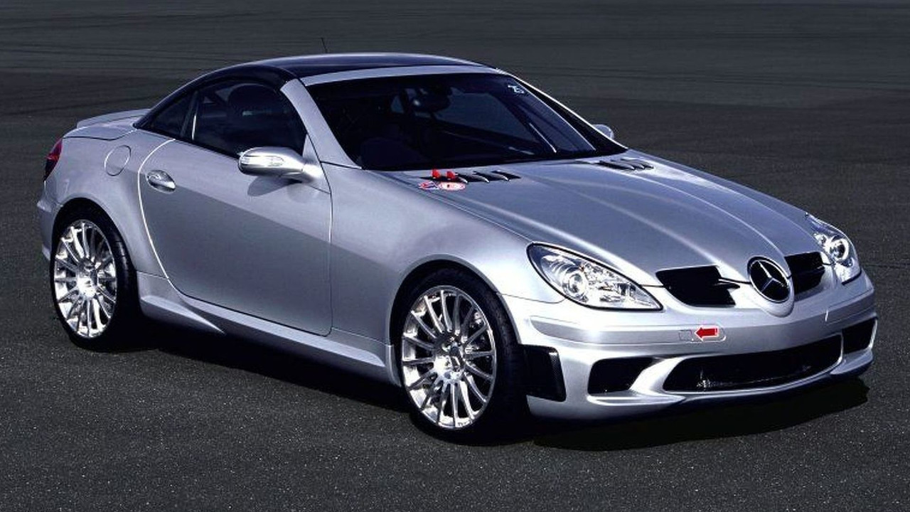 Mercedes SLK 55 AMG Ultimate Experience Asia