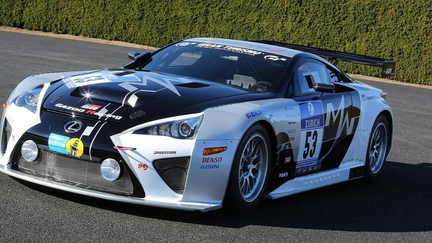 Lexus LFA Code X to compete in the Nürburgring 24 Hour Endurance Race