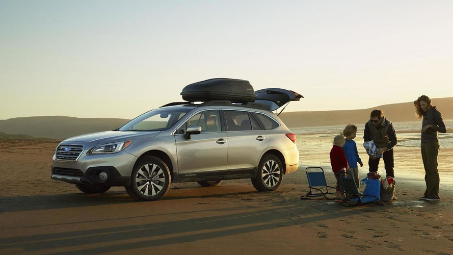 Subaru Tribeca successor could look like an enlarged version of the Outback