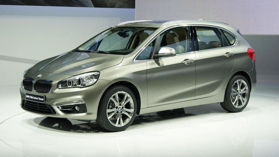 BMW estimates 75 percent of 2-Series Active Tourer customers will be first-time BMW buyers