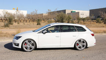 Seat Leon ST Cupra spy photo