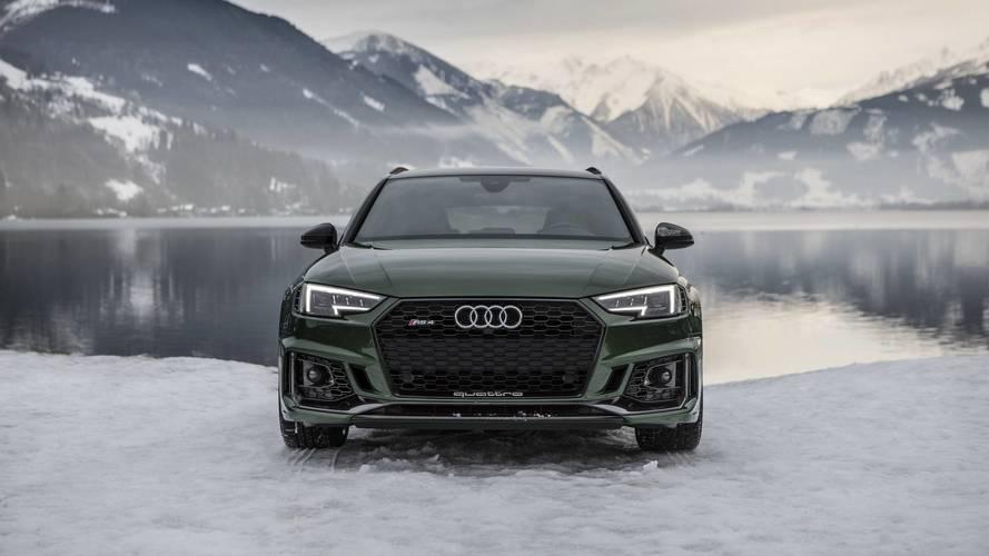 Audi RS4 Avusturya'da karın tadını çıkardı