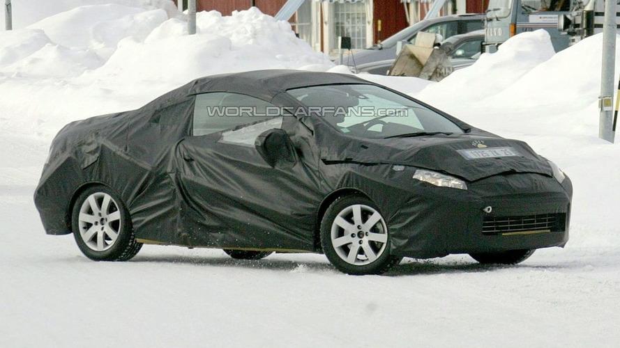 Peugeot 308 CC Spy Photos