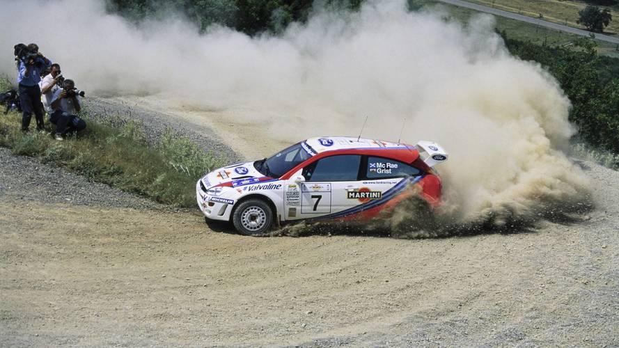 Colin McRae'in WRC Ford Focus'u açık artırmaya sunuluyor