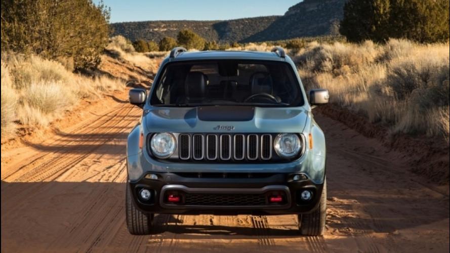 Vendite FCA, Jeep rimane la locomotiva del Gruppo