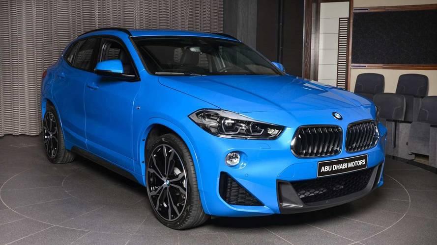 BMW Abu Dhabi'nin X2 M Sport'u sade görünüyor