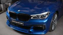 BMW 750Li in Avus Blue