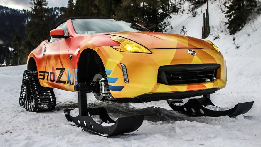 Nissan 370Zki, ha i cingoli per andare ovunque