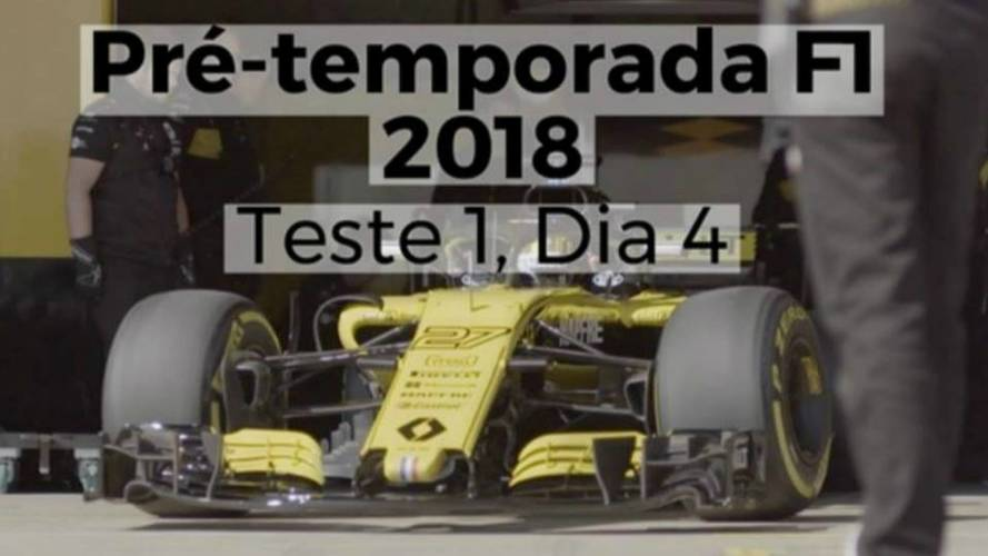 Pré-temporada F1 2018 - Veja como foi o quarto dia de testes