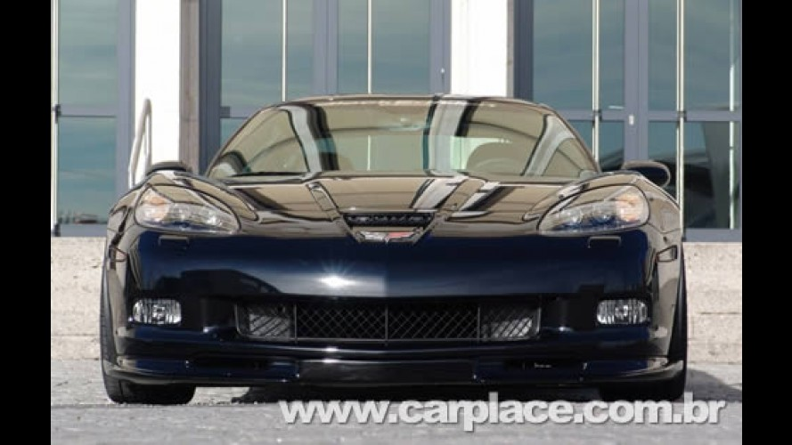 Preparadora esportiva mostra versão Black Edition do Chevrolet Corvette Z06