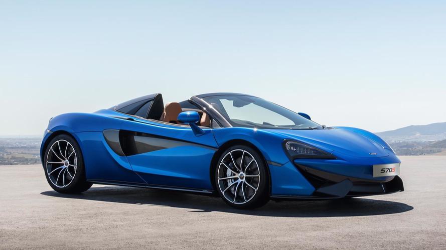 McLaren 570S Spider perde o teto, mas não o desempenho