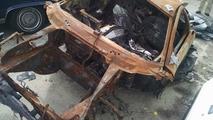Lamborghini Murcielago destroyed by fire