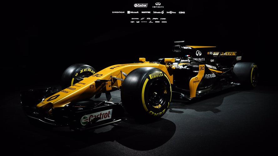 Renault presents its 2017 Formula 1 car