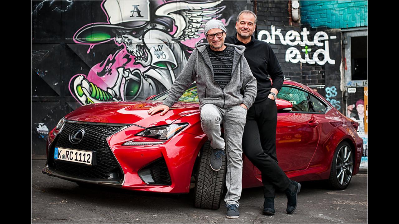 Titus Dittmann: Lexus RC F