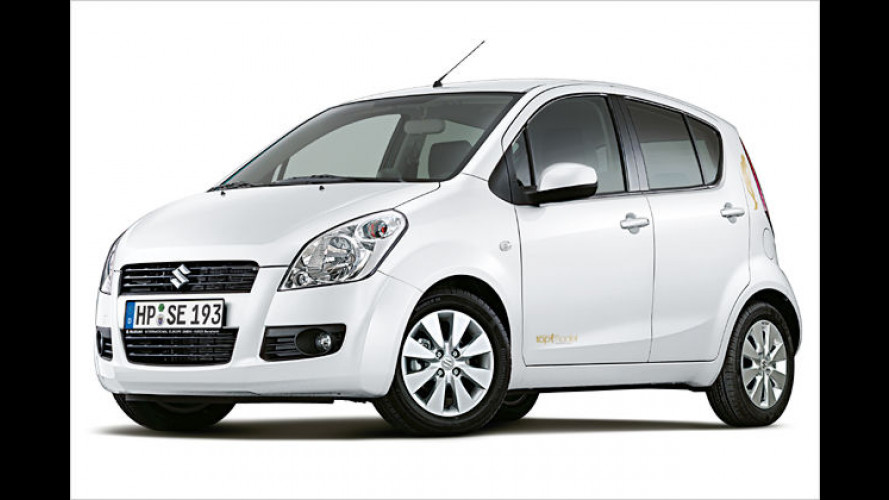 Suzuki bringt limitierten Splash ,Germany's next Topmodel