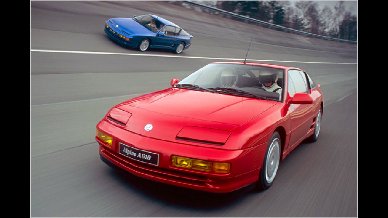 Renault Alpine A610 (1991-1995)