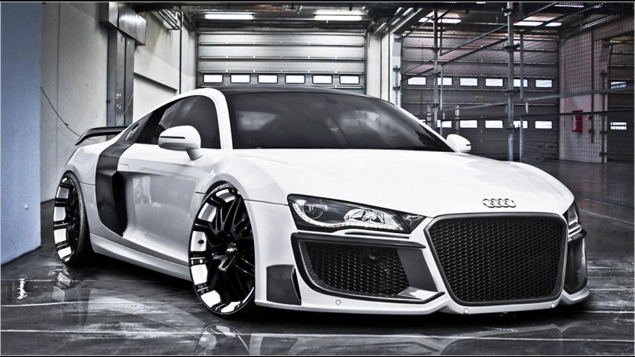 Dieser Audi holt tief Luft