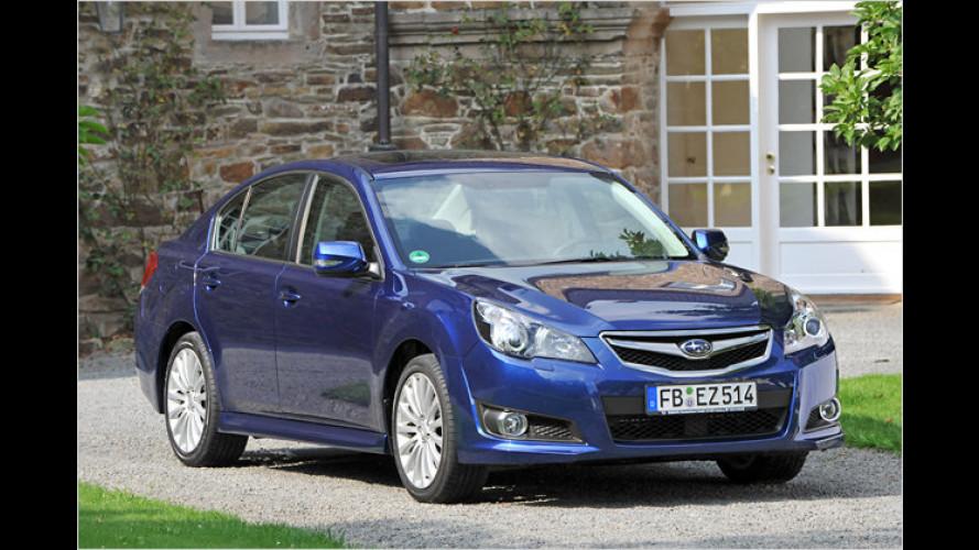 Subaru: Autogas jetzt auch für neue Legacy und Outback