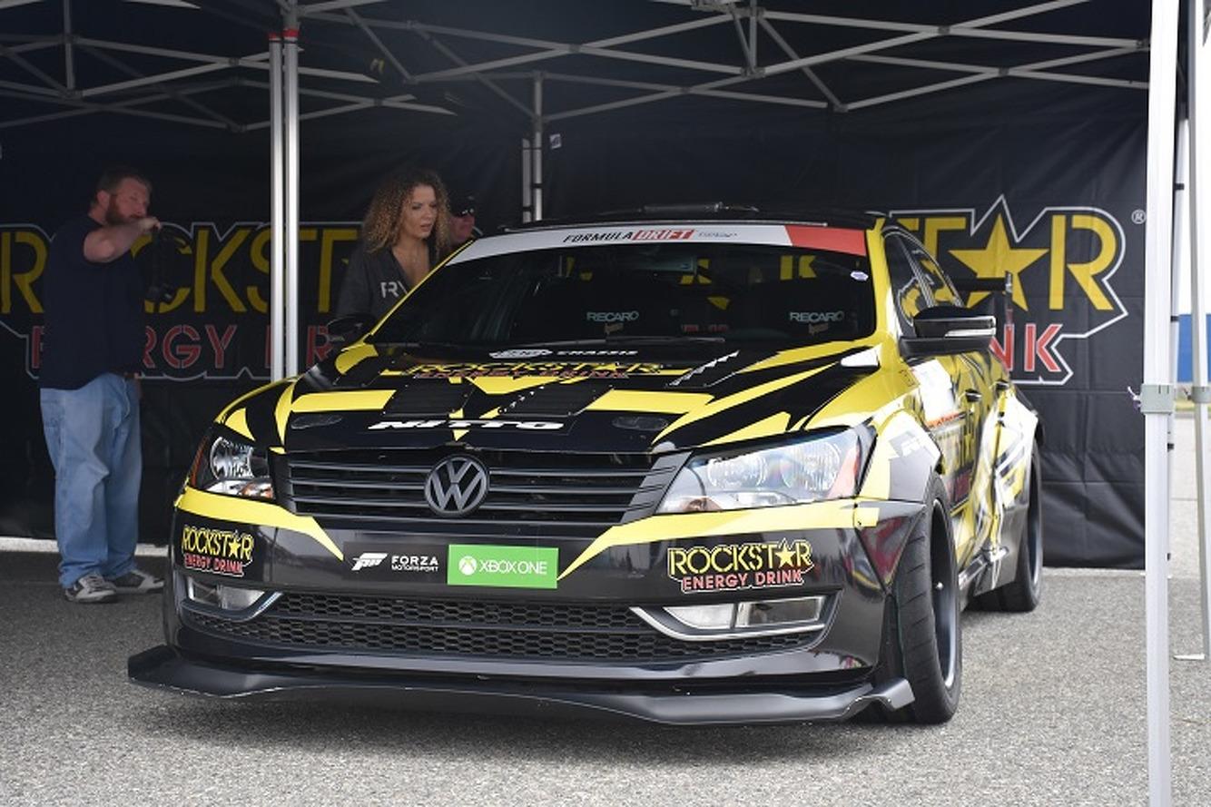 Hitching A Ride in Tanner Foust's 900HP Volkswagen Drift Passat