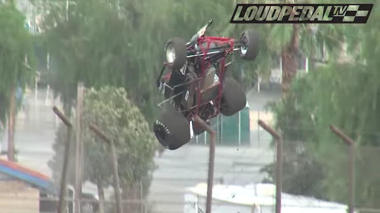 flying car crash