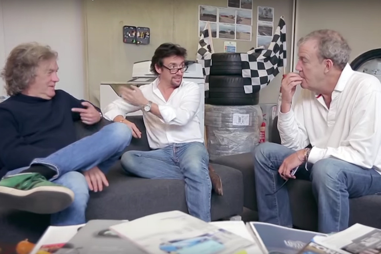 Help Clarkson, Hammond, and May Name Their New Amazon Show