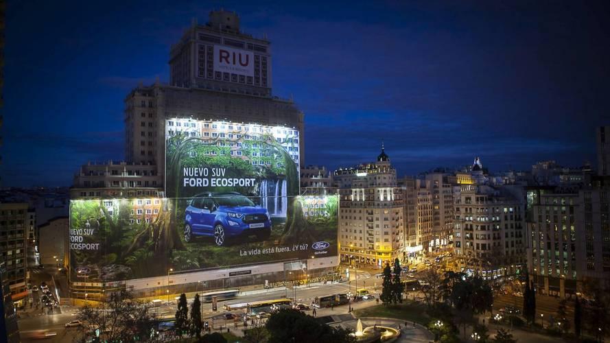 A Fordé a világ legnagyobb óriásplakátja