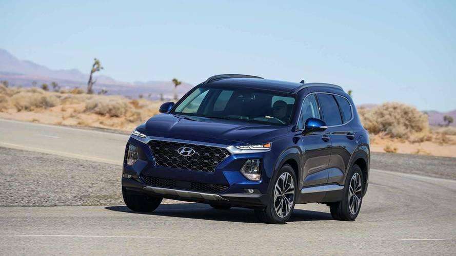 2019 Hyundai Santa Fe Starts At $25,500, $550 More Than 2018MY