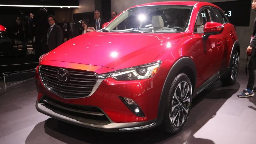 Mazda Cx 5 >> 2019 Mazda CX-3 at the 2018 New York Auto Show photo