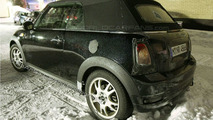 Mini Cabrio Spied Again