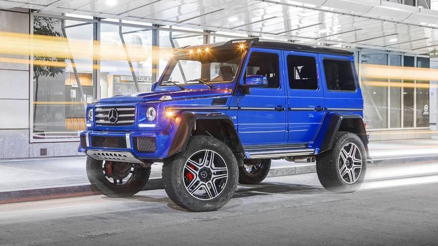Prueba Mercedes-Benz G 550 4x4² 2017: el tamaño sí importa
