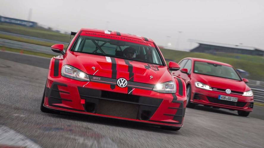 Track-Only VW Golf GTI TCR Gets A Facelift For 2018