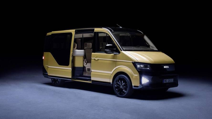Une filiale de Volkswagen présente un minibus électrique