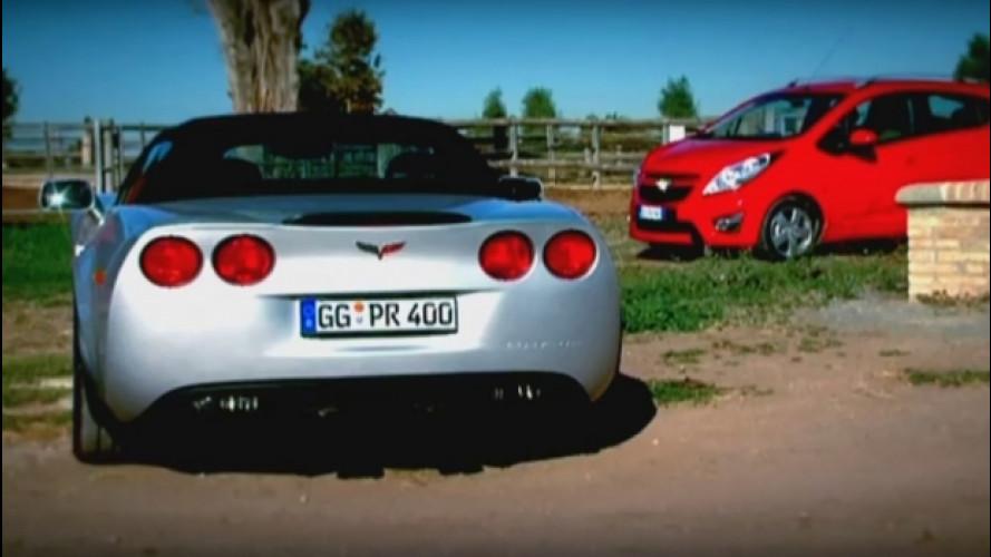 Chevrolet Corvette, la prova della Grand Sport Convertible [VIDEO]