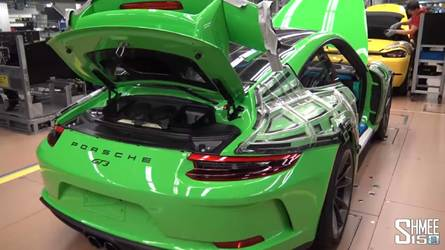 Watching A Porsche 911 GT3 Being Built Is Addictively Fascinating