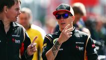 Alan Permane with Kimi Raikkonen 05.07.2013 German Grand Prix