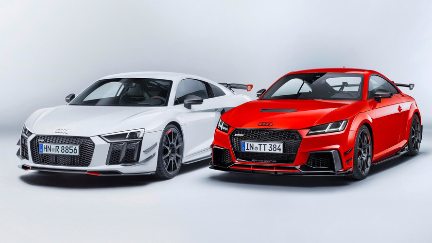 Audi Sport Lives Up To Its Name With Performance Parts For R8, TT